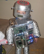 Little Robot DIY Costume
