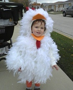 Little Rooster Homemade Costume