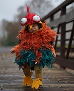 Little Rooster HeiHei Homemade Costume