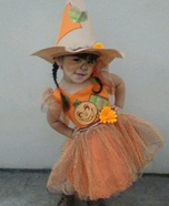 Little Scarecrow Costume for Girl