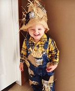 DIY Little Scarecrow Costume