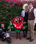 Little Shop of Horrors Family Homemade Costume