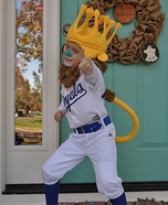 Little Sluggerrr Homemade Costume