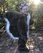 Little Squirrel Girl Homemade Costume