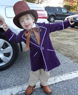 Little Willy Wonka Homemade Costume