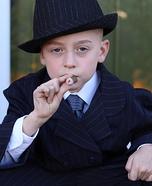 Little Wise Guy Homemade Costume