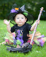 Little Witch Baby Costume