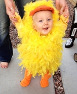 Little Yellow Duck Homemade Costume