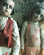 Little Zombies Homemade Costume