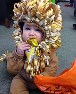Littlest Lion Homemade Costume