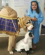Live Nativity Homemade Costume