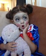 Living Doll Homemade Costume