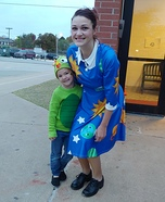 The Magic School Bus Liz and The Frizz Costume