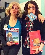Liz Lemon and Leslie Knope Homemade Costume