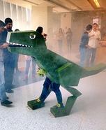 Lizasaurus Rex Homemade Costume