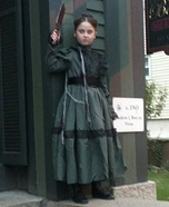 Lizzie Borden Homemade Costume