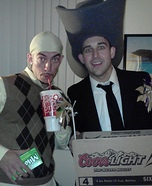 Lloyd Christmas and Darryl Costume