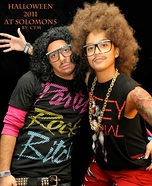 Homemade LMFAO costumes