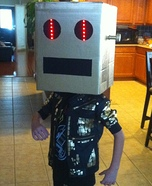 LMFAO Box Head Costume