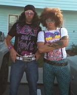 LMFAO RedFoo and SkyBlue Costumes