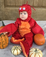 Lobster Baby Halloween Costume