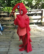 Lobster Kid Costume