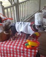 Lobster Shack Homemade Costume