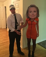Lock Her Up Homemade Costume
