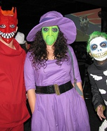 Group costume ideas - Lock, Shock, Barrel from The Nightmare Before Christmas Costumes