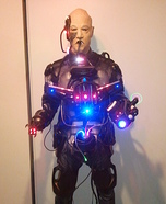 Homemade Locutus of Borg Cyborg Costume