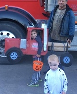 Log Truck Driver Homemade Costume