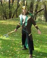 Loki Homemade Costume