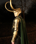 The Avengers Loki Costume