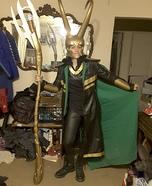 Loki Laufeyson Homemade Costume