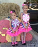 Lollipop Sisters Homemade Costume