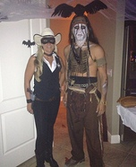 Coolest couples Halloween costumes - Lone Ranger and Tonto Costume