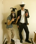 Lone Ranger and Tonto Homemade Costume