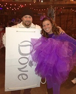 Loofah and Dove Soap Couple Costume