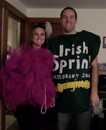 Loofah and Soap Homemade Costumes