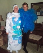 Loofah & Bar of Soap Couple Costume