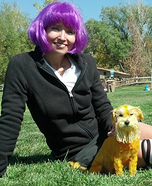 Costume ideas for pets and their owners: The Lorax Costume