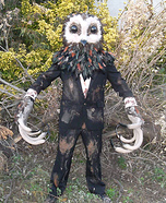 Lord of Tears Owlman Homemade Costume