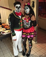 Los Muertos Homemade Costume