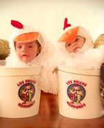 Los Twin Pollos Hermanos Homemade Costume