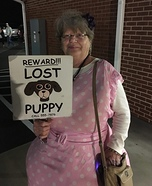Lost Puppy Homemade Costume