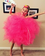 Loveable Loofah Homemade Costume
