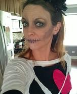 Lovely Skeleton Homemade Costume