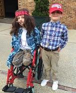 Lt. Dan and Forrest Homemade Costume