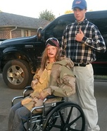 Lt Dan and Forrest Gump Homemade Costume