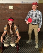 Lt. Dan & Forest Gump Homemade Costume